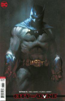 Batman daniel florea roman desenator dc comics