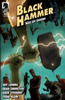 Black Hammer age of doom dark horse comics