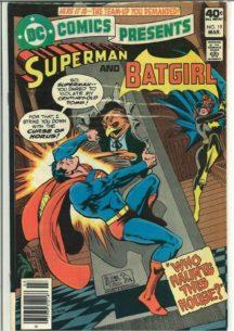 DC Comics presents Superman batman benzi desenate vechi