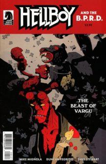 Hellboy bprd beast vargu benzi comics noi