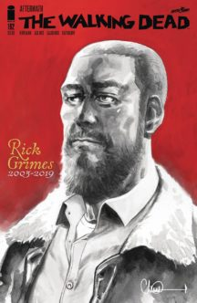 Benzi desenate noi moartea rick grimes image comics
