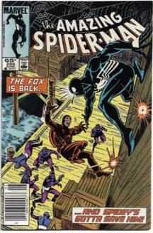 Spider-Man Silver Sable prima aparitie marvel numar cheie
