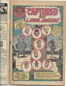 mary jane watson spider-man jonah jameson benzi vechi
