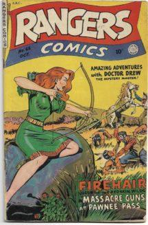 Gold Age benzi comics vechi de tot firehair western
