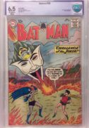 Batman 136 joker cover silver age dc comics