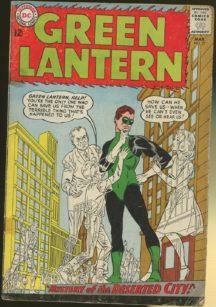 Green lantern silver age dc comics