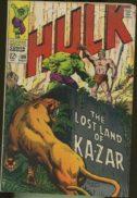 Hulk Ka-zar benzi desenate vechi silver age de vanzare