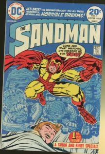 Sandman Kirby benzi desenate vechi dc comics