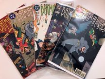 batman and robin adventures dc comics benzi