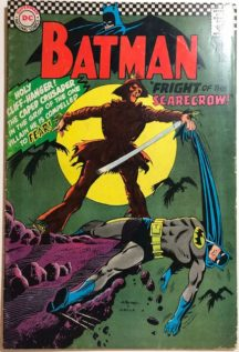 Batman 189 scarecrow dc comics benzi vechi valoroase