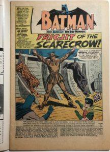 Scarecrow benzi desenate prima aparitie dc comics batman silver age