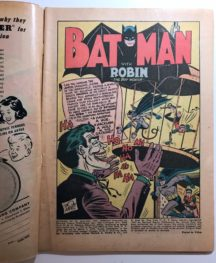 Batman Joker benzi desenate gold age vechi comics dc