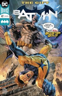 Batman dc comics benzi desenate noi booster gold
