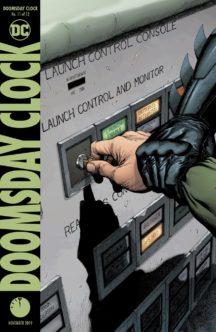 Doomsday Clock dc comics benzi desenate noi rorscharch