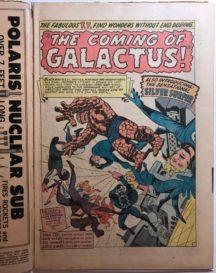 Prima aparitie silver surfer galactus marvel benzi vechi