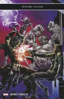Infinity wars stan lee benzi desenate noi
