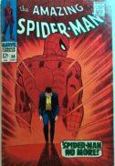 Prima aparitie Kingpin cover iconic clasic Spider-Man