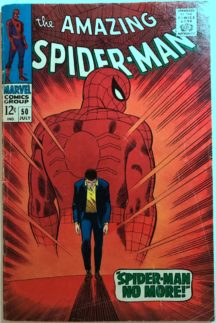 Prima aparitie Kingpin cover iconic clasic Spider-Man