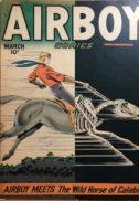 Airboy comics benzi golden age gold vechi hillman