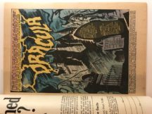 Dracula comics benzi desenate vampiri vechi