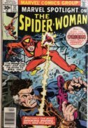 Marvel spotlight spider-woman origine prima aparitie hot comics