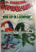 SPider man scorpion marvel amazing comics