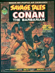 Savage Tales comics conan in engleza americane
