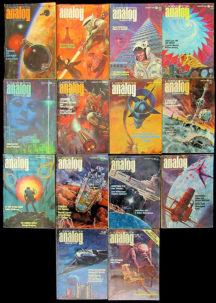 Science fiction magazines pulp vechi engleza dell comics