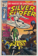 Silver surfer cover benzi desenate vechi marvel
