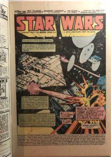 darth vader Star Wars 1 banda desenata luke skywalker marvel