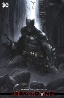 Francesco Mattina card stock cover benzi desenate noi dc comics