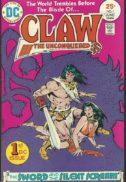 Claw unconquered prima aparitie conan benzi desenate dc comics