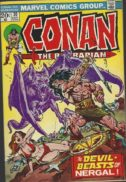 Conan barbarian benzi vechi marvel comics