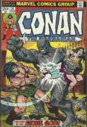 Conan the Barbarian comics marvel in romana