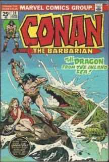 Conan Barbarul the Barbarian carte benzi desenate vechi