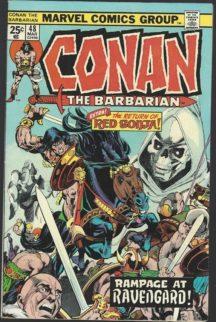 Conan the barbarian benzi desenate marvel
