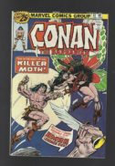 Conan barbarian 61 killer moth benzi desenate Marvel