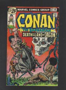 Conan barbarul agon benzi marvel vechi vintage