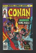 Conan King Kull benzi desenate vechi vintage marvel
