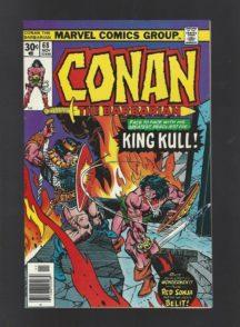Conan King Kull benzi desenate vechi vintage marvel