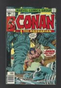 Conan the barbarian muschi benzi desenate vintage marvel