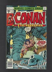 Conan the barbarian muschi benzi desenate vintage marvel
