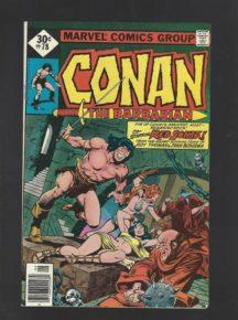 Conan barbarul arnold sabie benzi desenate vechi marvel