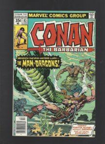 Conan crocodili bataie barbarian marvel