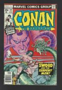 Conan sword comics marvel vintage