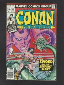 Conan sword comics marvel vintage