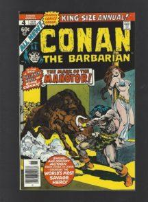 Conan king size comic marvel vechi