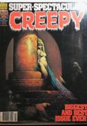 Frank Frazetta cover sexy horror warren Creepy