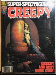 Frank Frazetta cover sexy horror warren Creepy