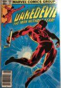 Daredevil benzi comics marvel desenate vechi